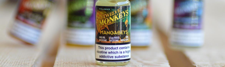 find Twelve Monkeys 10ml eliquid flavours here