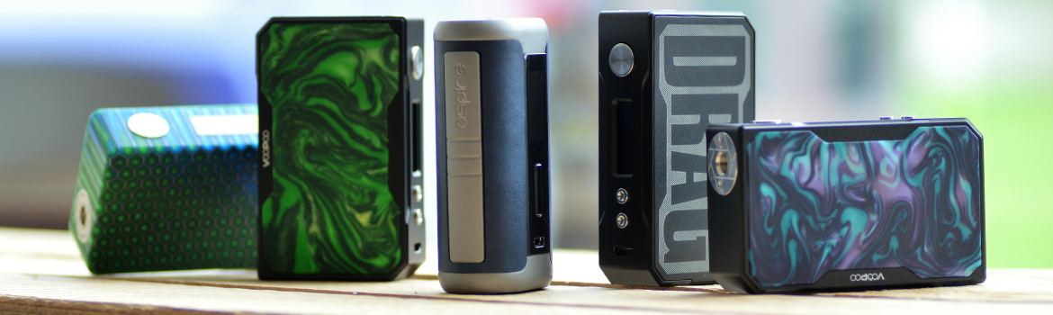 we've picked the best from the bunch, find all our favourite box mods here
