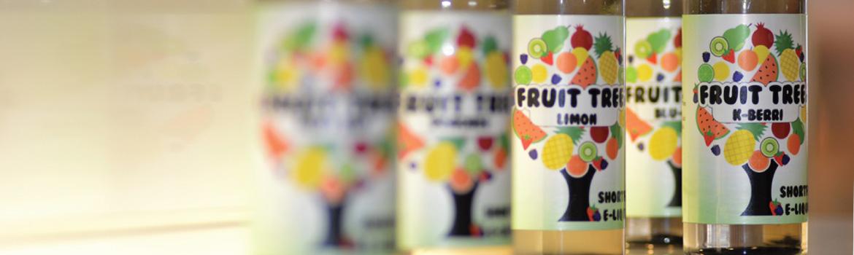 Fruit Tree large short fill e-liquid bottles