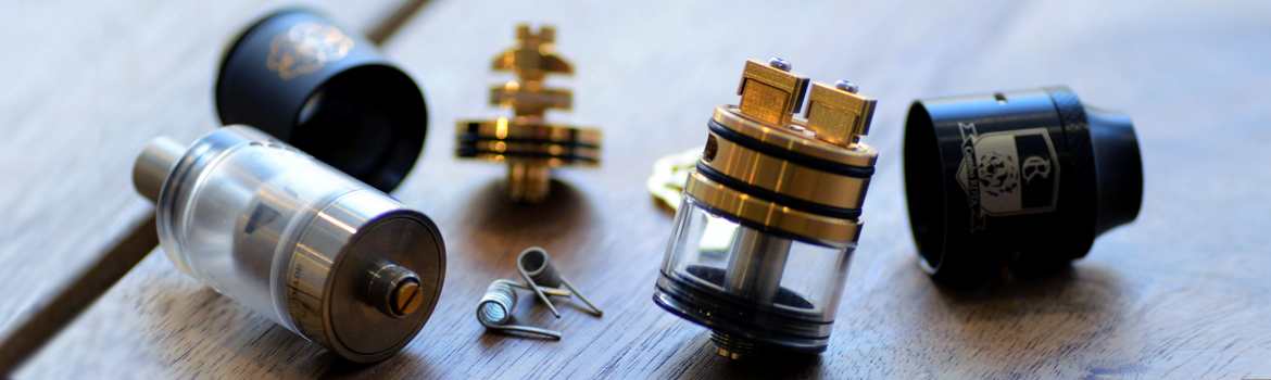 Rda and Rdta's for vapers who like to build their own